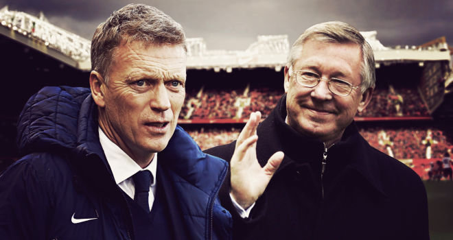 david moyes sir alex ferguson retire