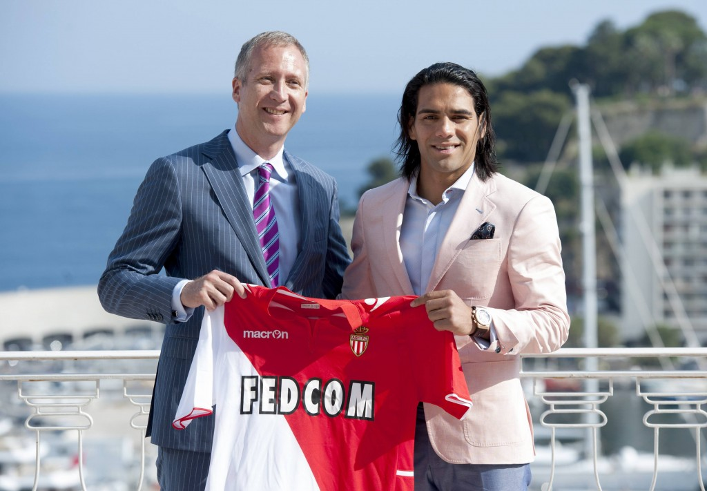 Falcao in AS Monaco