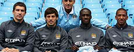 Manchester City setting a new standard in mega-spending